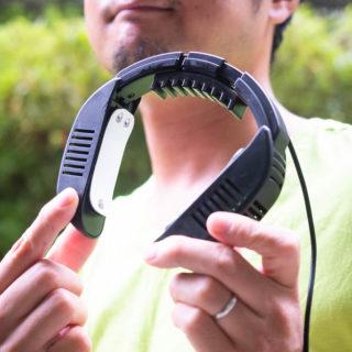 首元がずっと冷たい!USB式ネッククーラーminiが暑い夏に最高だぞ!