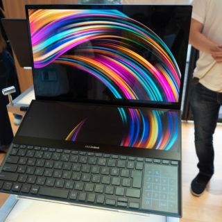 ASUSの4Kの2画面ノートPC「ZenBook Pro Duo」がハイスペック全部入りで、クリエイター向けに最適だぞ!