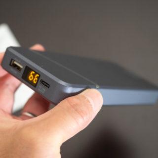 【新発売】残量が1%ごとにわかるcheeroのモバイルバッテリーに薄型格安モデルが登場だぞ!