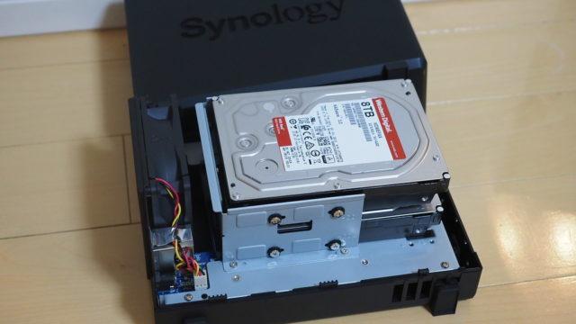 自宅の写真・動画保存に!家庭用NAS「Synology DS218play」に16TB搭載して設置したぞ!