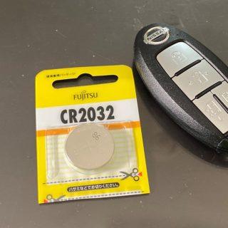 日産セレナ(C27)のリモコンキー電池交換!電池の種類と開ける際のコツを教えるぞ!