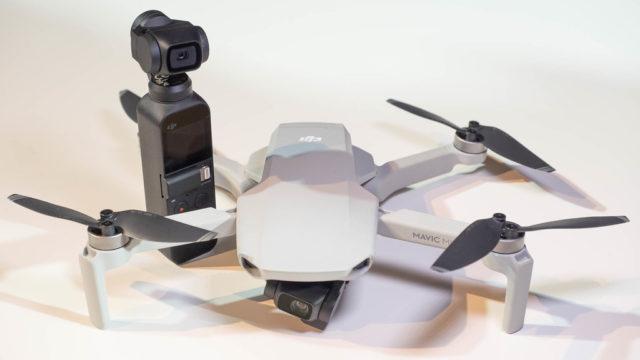 「DJI Mavic mini」のカメラを「Osmo Pocket」と比較してみたぞ!