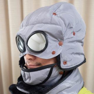 気分はナウシカの世界観!ゴーグル付きの防寒帽子が実用的で見た目のインパクトもすごいぞ!