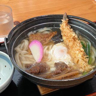 【愛媛】鍋焼きうどんを食べるなら!「七里茶屋」が美味しいぞ!