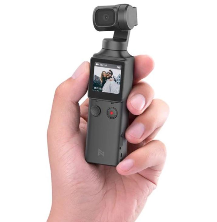 FIMI PALM 3軸4K HDハンドヘルドジンバルカメラポケットスタビライザー128°超広角防振撮影スマートトラック内蔵Wi-Fi Bluetoothリモートコントロール(Xiaomiエコシステム製品)