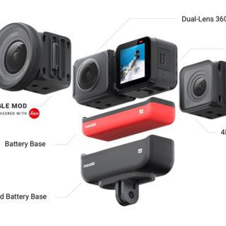【発表】「Insta360 ONE R」はライカ共同開発でレゴのように必要パーツを組み合わせるアクションカメラだぞ!