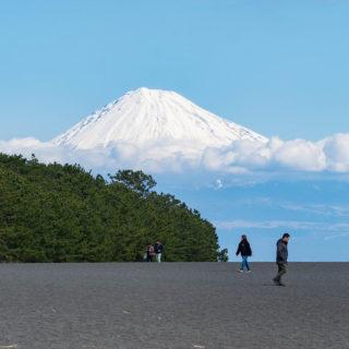 静岡県清水「三保の松原」からの富士山と海と松の組み合わせが絶景スポットだぞ!