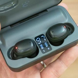 【新発売】モバイルバッテリーになるケース付きのワイヤレスイヤホンが便利だぞ!
