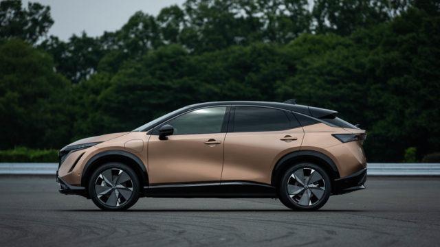 実売500万円〜!日産からSUV電気自動車ARIYA(アリア)の市販化モデルが発表だぞ!