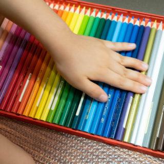 子ども用の色鉛筆に!ファーバーカステル36色のちょっと良い色鉛筆を揃えたぞ!