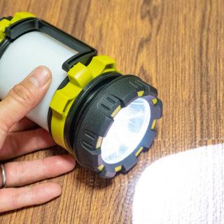 防災グッズに!LEDライト・ランタンになる3in1ライトは1つあると便利だぞ!