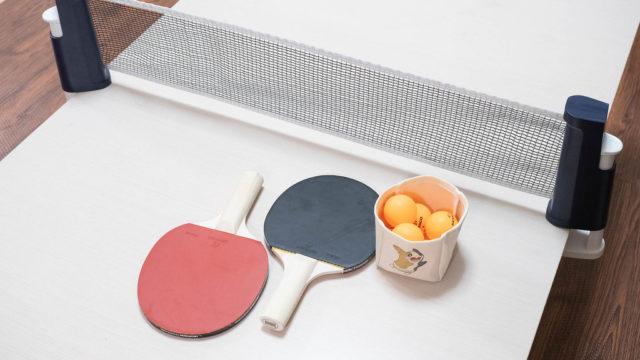 アウトドア・スポーツ用品店「デカトロン」で、ポータブル卓球セットを買ったぞ!