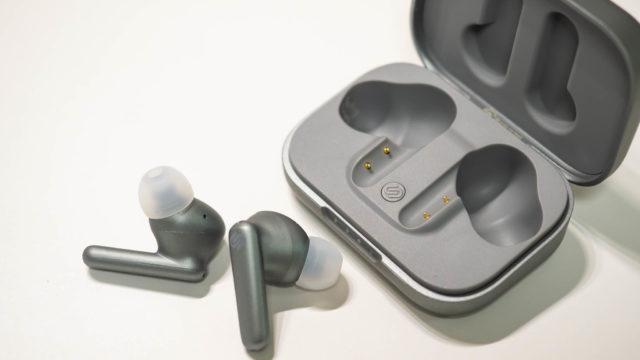 ワイヤレスイヤフォン「urbanista LONDON」はノイキャン・アンビエントサウンドモード・耳検知機能搭載だぞ!