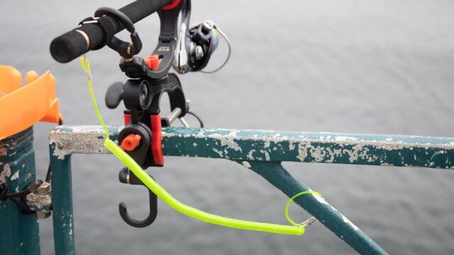 釣竿を海に落とさない為に!尻手ロープはスパイラルコードがオススメだぞ!