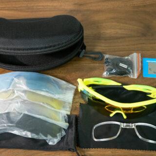 釣り・サイクリング・ゴルフ・運転にも!偏向レンズなど5つのレンズ付きで2000円以下のスポーツサングラスがめちゃ良いぞ!