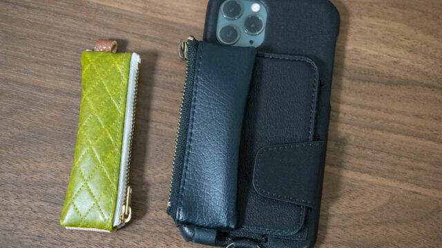 iPhoneケース「RAKUNI」に小さな小物入れが付けられる!「コラクニ」が便利だぞ!