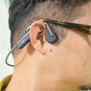 テレワークの会議でも耳が疲れない!骨伝導ワイヤレスヘッドホン「OpenMove」がリーズナブルで良いぞ!