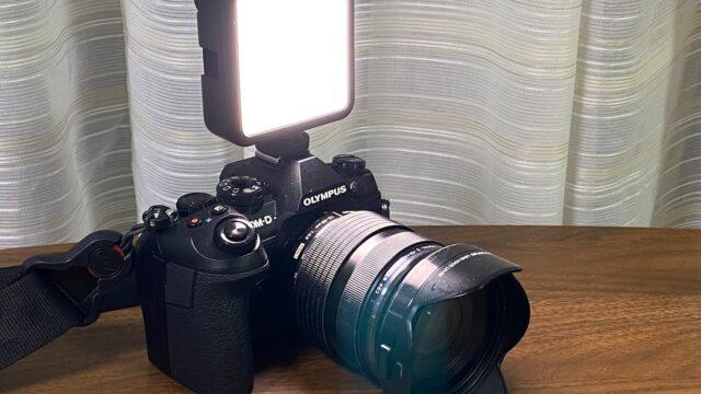 コンパクトで色温度変更可能なLEDビデオライトが便利だぞ!