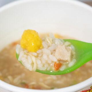 日清カップヌードルぶっ込み飯「鶏白湯」が背徳感があって美味しいぞ!