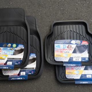 泥汚れ防止!雨や雪、泥遊び後に車に乗るなら、3Dフロアマットが良いぞ!